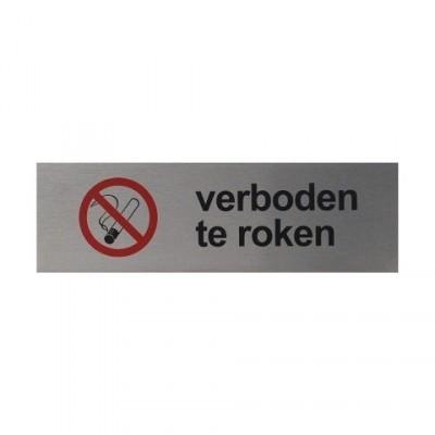Verboden te roken RVS