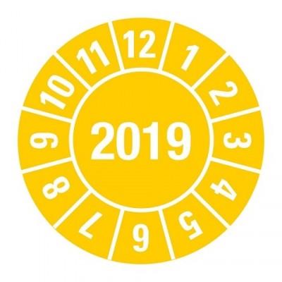 2019 geel