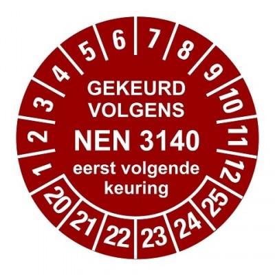 NEN3140 rood