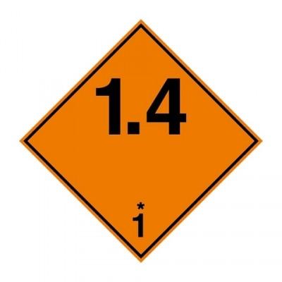 ADR 1.4 Ontplofbare stoffen