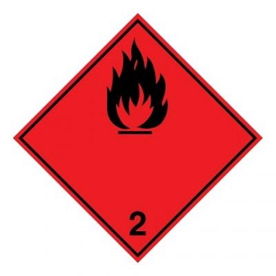 ADR 2.1A - Licht ontvlambaar gas