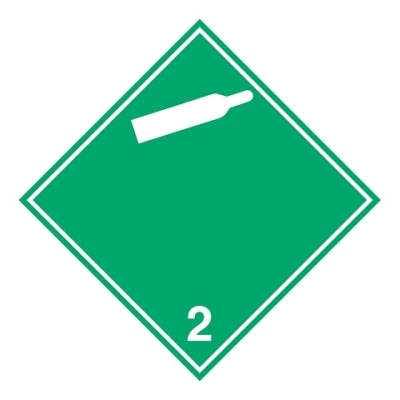 ADR 2.2B - Niet-brandbaar, niet-giftig gas