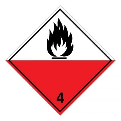 ADR 4.2 - Brandbare vaste stoffen