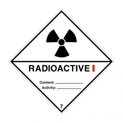 ADR 7A I Radioactief