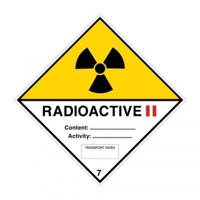 ADR 7B II Radioactief