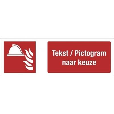 FO21 Pictogram + tekst naar keuze