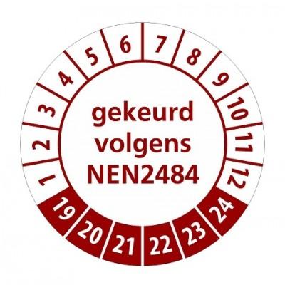 NEN2484 rood