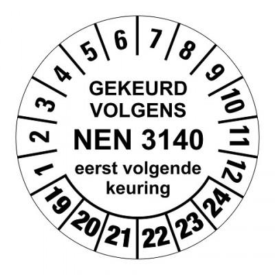 NEN3140 wit