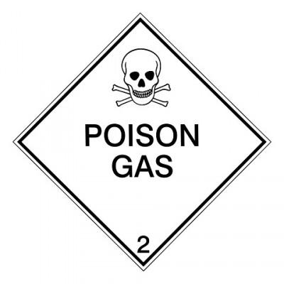 IMDG 2A - Vergiftige gassen