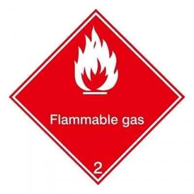 IMDG 2D - Brandbare gassen