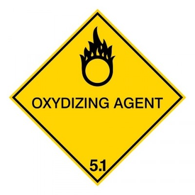 IMDG 5A - Oxyderende vloeistof