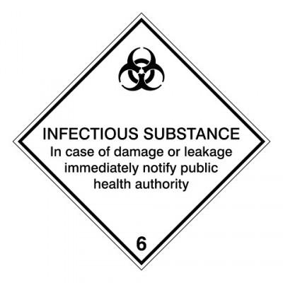 IMDG 6D - Besmettelijk