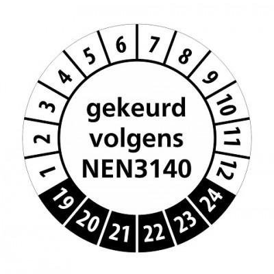 NEN3140 zwart