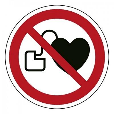 P007 Verbod voor personen met pacemaker