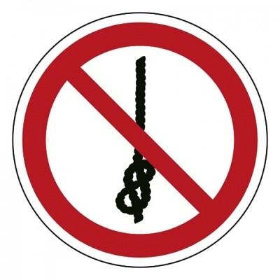 P030 Verboden knopen te maken