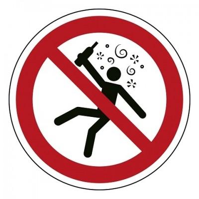 P043 Verboden voor dronken personen