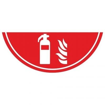 Vloermarkering  Brandblusser