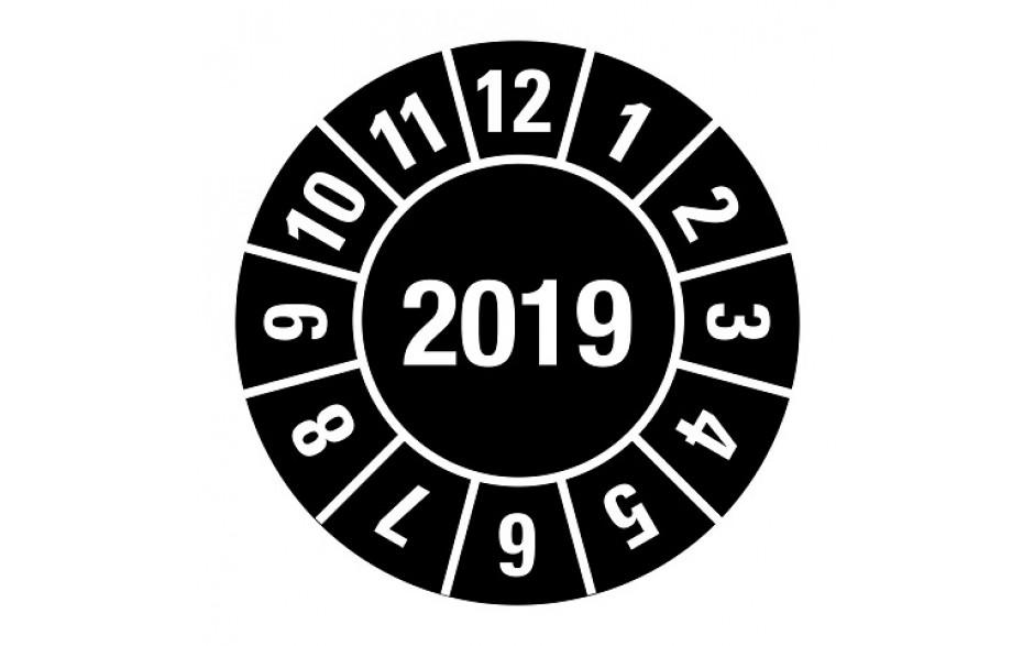 2019 zwart