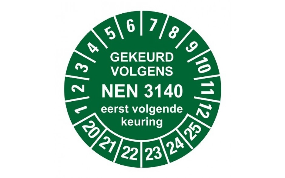 NEN3140 groen