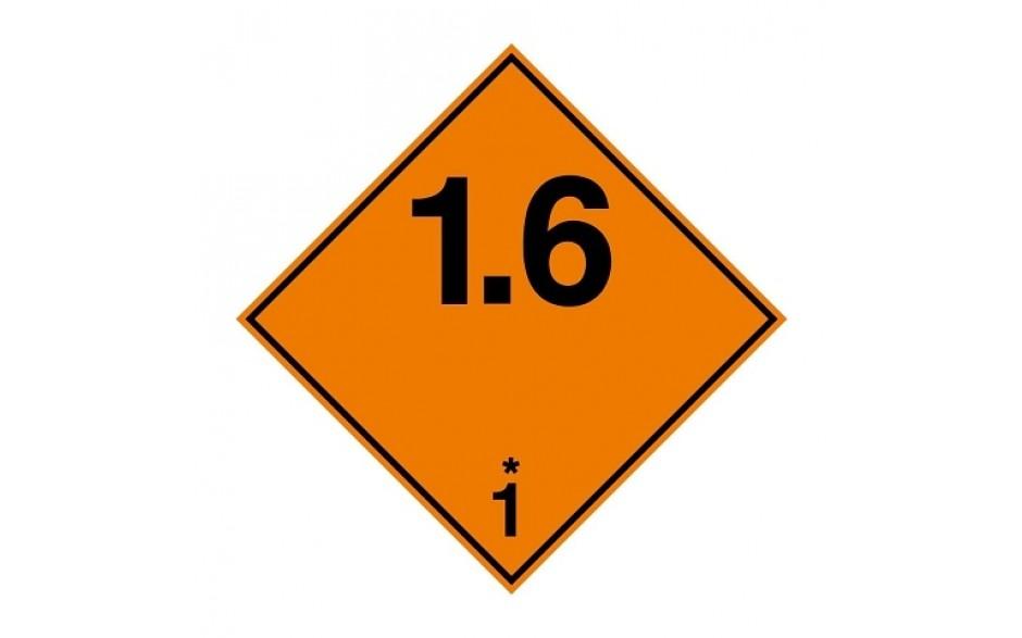 ADR 1.6 Ontplofbare stoffen