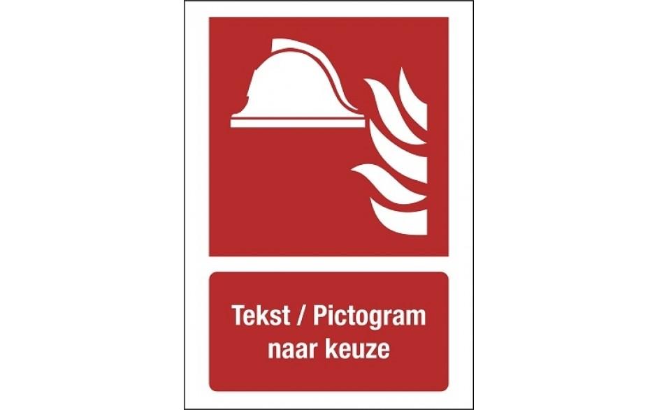 FO20 Pictogram + tekst naar keuze