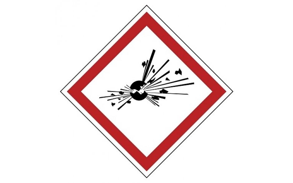 GHS01 Explosief