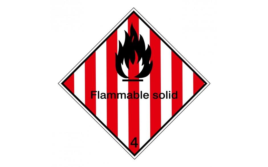 IMDG 4A - Brandbare vaste stoffen
