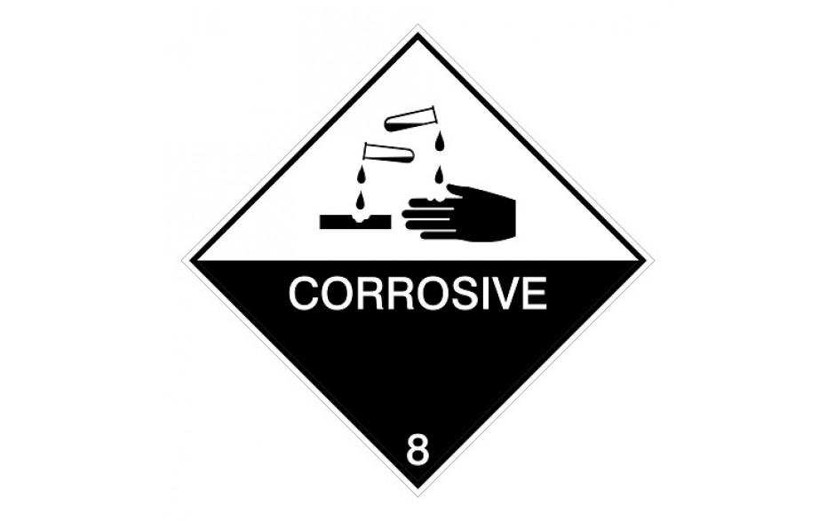 IMDG 8A - Bijtend (corrosief)