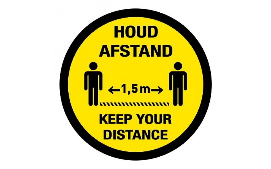 Houd afstand / keep your distance