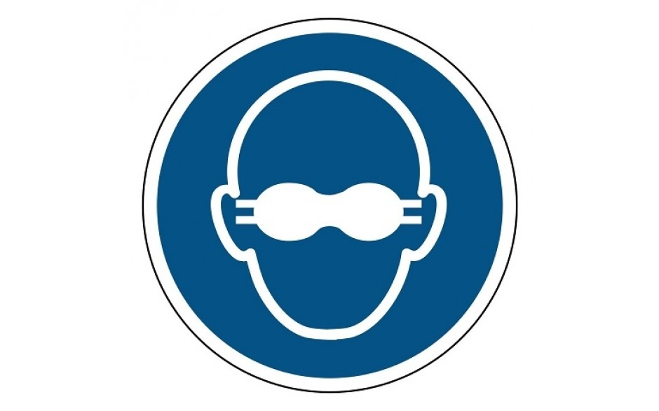 M007 Dragen van opaak bril verplicht