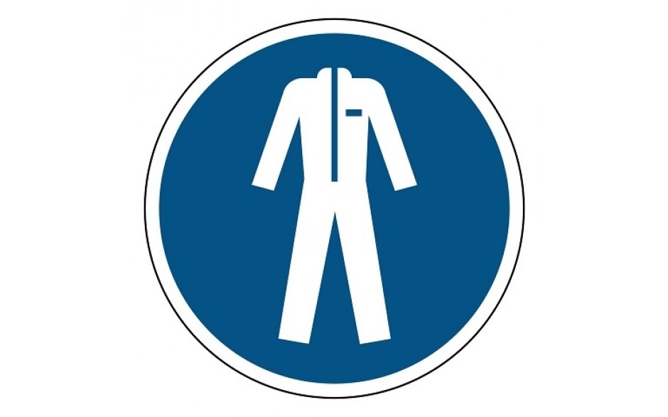 M010 Beschermkleding verplicht