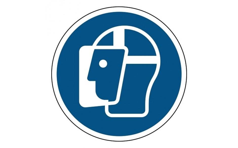 M013 Gelaatsbescherming verplicht