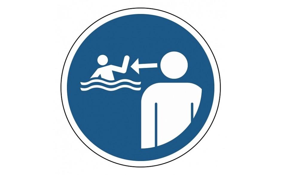 M054 Houd kinderen in het water onder toezicht