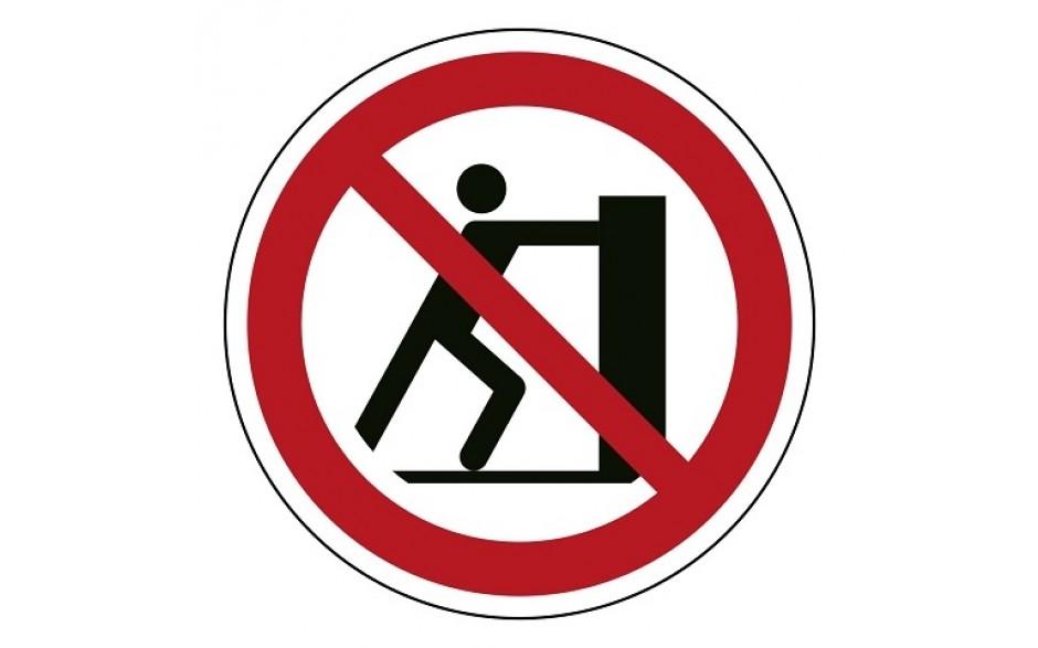 P017 Duwen verboden