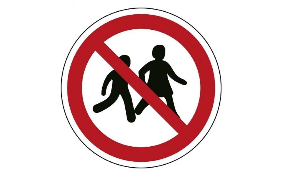 P036 Kinderen niet toegestaan