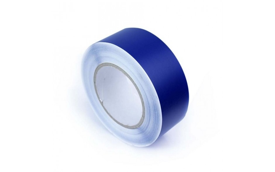 Duurzame vloertape 50 mm BLAUW (rol 33 meter)