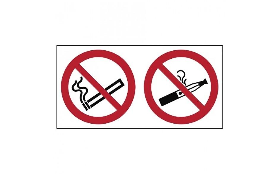 Combinatie P002 Verboden te roken / E-sigaretten