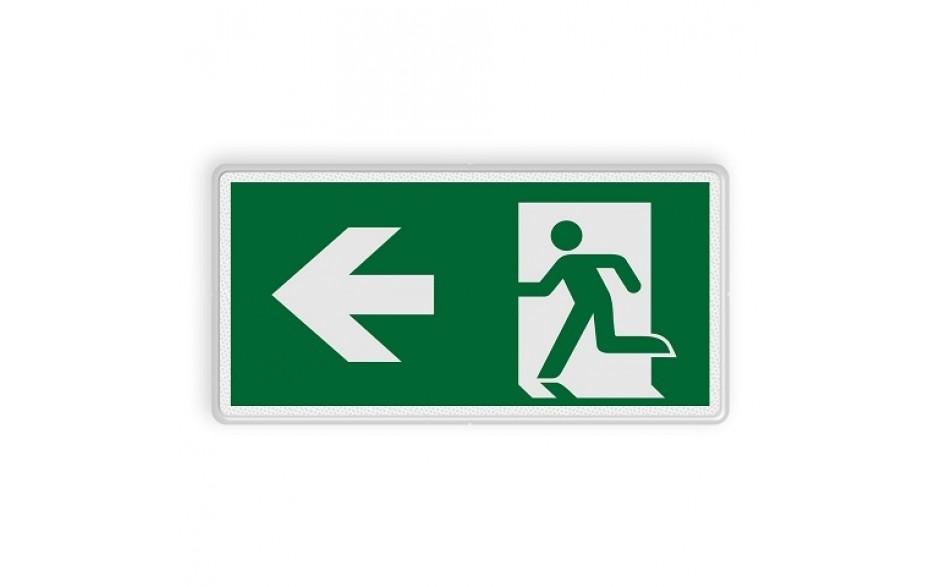 Vluchtweg links