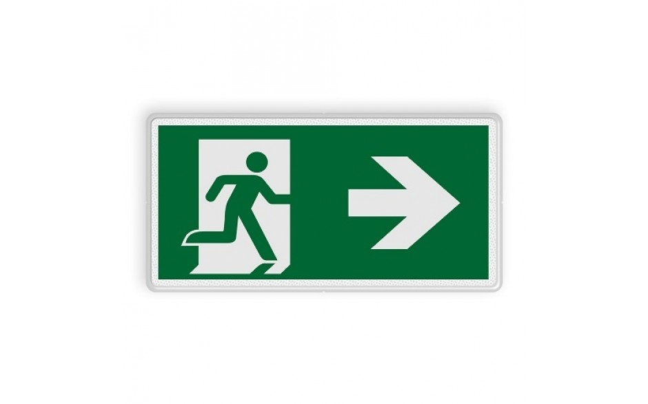 Vluchtweg rechts
