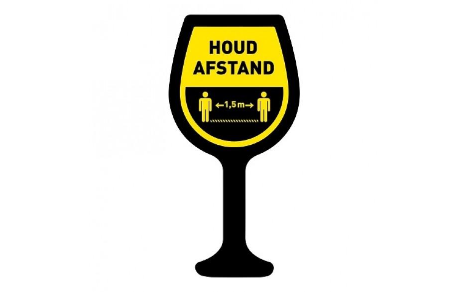Houd afstand wijn