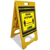 A-Bord  afstand houden