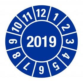 2019 blauw