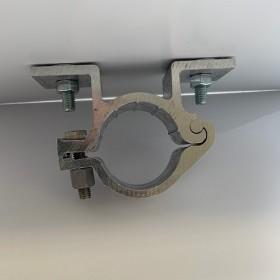 Blinde bevestiging ø 48 mm dubbel dibond