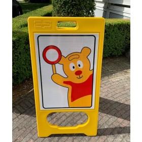 A-bord Traffic Teddy REFLECTEREND