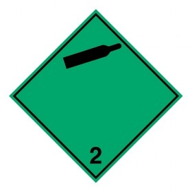 ADR 2.2A - Niet-brandbaar, niet-giftig gas