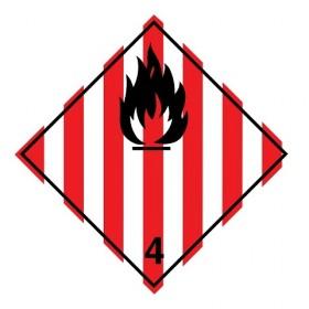 ADR 4.1 - Brandbare vaste stoffen