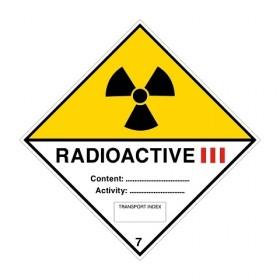 ADR 7C III Radioactief