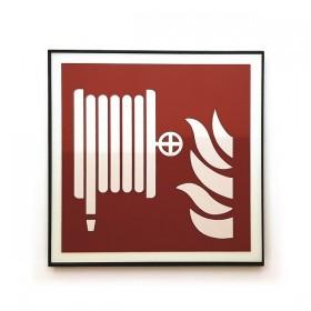 F002 Brandslang design incl. pictogram