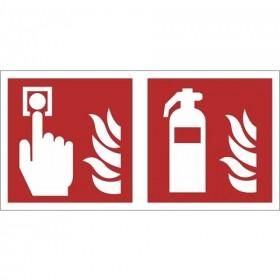 FO34 Brandmelder - brandblusser