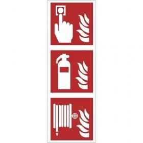 FO35 Brandmelder - brandblusser - brandslang